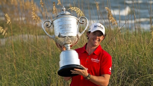 McIlroy won the PGA Championship on the last occasion it was held in Kiawah Island in 2012