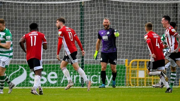 Shamrock Rovers lead the table by six points