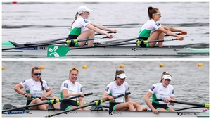 Top: Aoife Casey and Margaret Cremen. Bottom (L to R): Aifric Keogh, Eimear Lambe, Fiona Murtagh and Emily Hegarty.