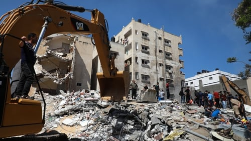 Israel said this morning its 'continuing wave of strikes' had in the past 24 hours struck over 90 targets across Gaza