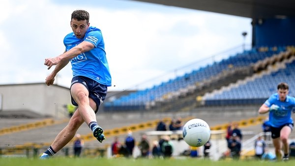 Dublin were awarded three penalties in the game