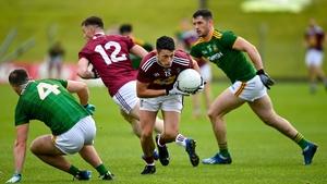 Ronan O'Toole of Westmeath breaks through the Meath defence