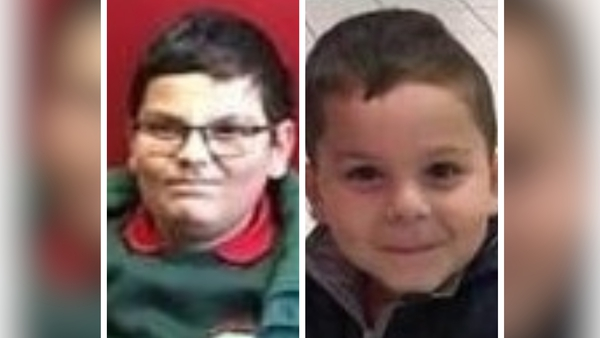 Fabricio and Patrick Hovarth were last seen in Belfast on Friday evening
