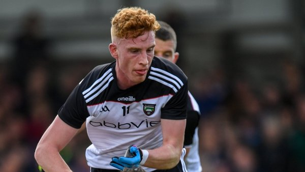Sean Carrabine shone for Sligo