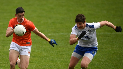 Grugan kicked six points for Armagh