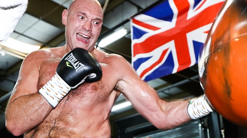 Tyson Fury says his fight with Anthony Joshua is '100% on'