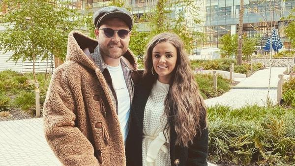 Danny Miller and his fiancée Steph Jones, image via Danny Miller/Instagram