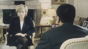 Princess Diana being interviewed by Martin Bashir in 1995