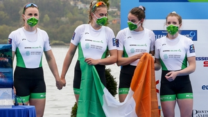 The Irish women's four team are off to Tokyo