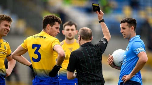 Roscommon fell foul of the new rules in their loss to Dublin on Sunday