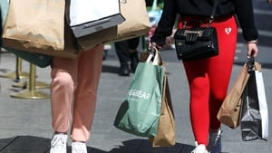 April retail sales were up 90.1% compared with the same time a year ago when the economy was in a tight lockdown, the CSO said (Pic: RollingNews.ie)