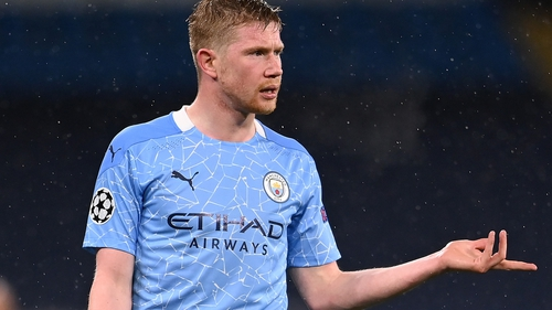 Kevin De Bruyne has returned to training