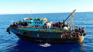 Migration returned to the top of the political agenda in Italy a week ago after 2,200 asylum-seekers arrived on its tiny island of Lampedusa (File pic)