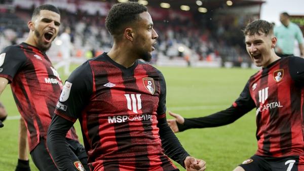 Arnaut Danjuma's second-half strike gave Bournemouth a first-leg lead
