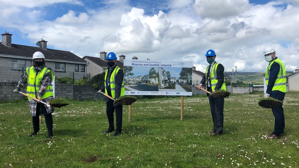 The project is being delivered as part of the ongoing regeneration project in both Moyross and Southill