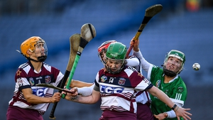 Action from the Slaughtneil - Sarsfields All-Ireland senior club final from 2020
