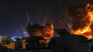 Israel's bombing campaign has killed 217 Palestinians, including 63 children, and wounded more than 1,400 people in just over a week in the Hamas-run enclave, according to Gaza's health ministry