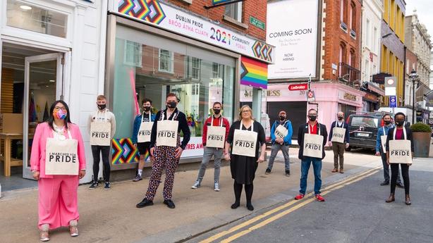 Pride Festival launch