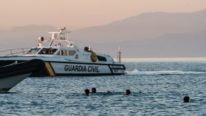 Thousands of people have swam to Cueta from Morocco since Monday