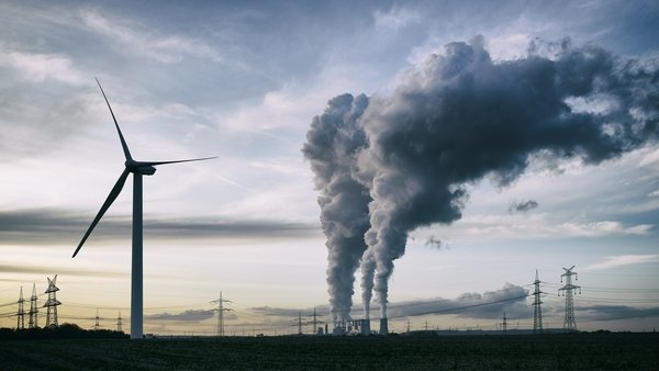 Almost 60% of Ireland's greenhouse gas emissions arise from using energy for electricity, heat and transport