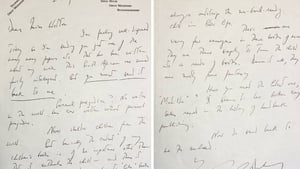 The letter is set to go under the hammer on 15 June in Hansons' specialist library auction at Bishton Hall in Staffordshire