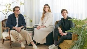 &Open co founders Jonathan Legge, Ciara Flood and Mark Legge