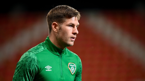 The Coventry-born striker made his Ireland debut in 2019