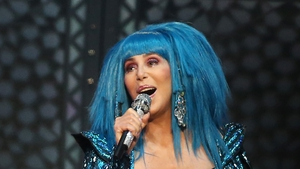 Cher during her blue period