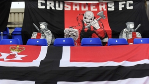 Crusaders were beaten in a controversial penalty shootout