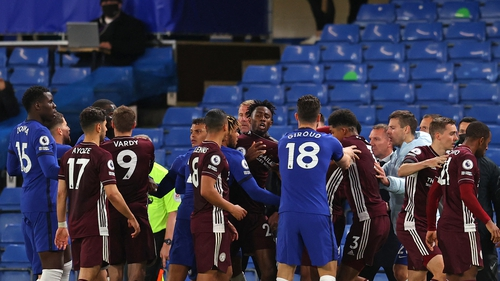 Chelsea won the game 2-1