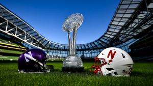 Northwestern and Nebraska are set to meet at the Aviva Stadium