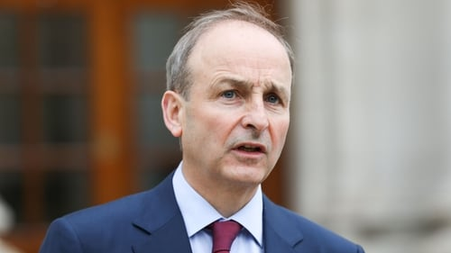 Micheál Martin said that getting the decryption key is good but does not take away from the enormous work that still lies ahead to rebuild the system overall (Pic: RollingNews.ie)