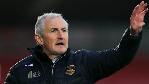Galway United manager John Caulfield