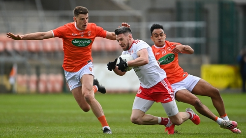 Tyrone and Armagh both have two points in Division One North