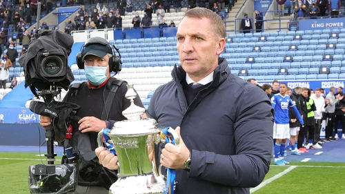 Brendan Rodgers says Leicester will come back fighting next season