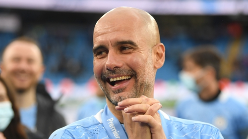 Guardiola will be aiming to add a third Champions League title to his managerial CV