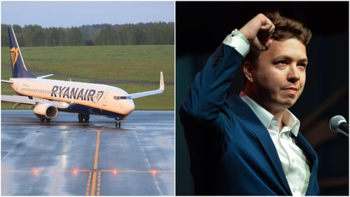 Roman Protasevich was removed from a Ryanair plane that was forced to land in Minsk last month