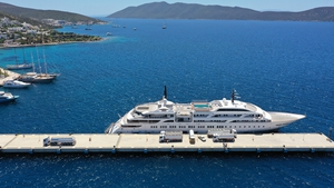 There has been a boom in super yachts since the pandemic began