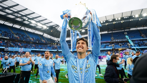 John Stones will now hope to be lifting another trophy on Saturday next