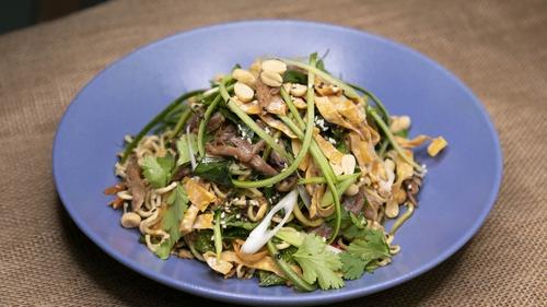 Wade's confit duck & noodle salad