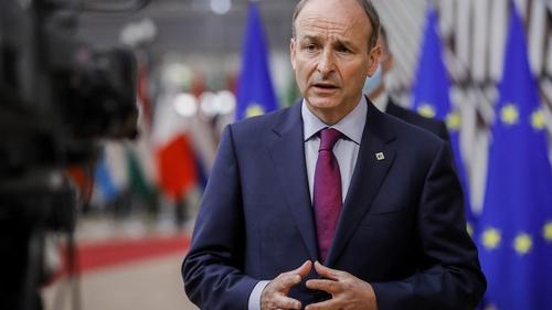 An Taoiseach Micheál Martin