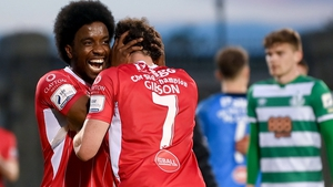 Walter Figueira and Jordan Gibson feature in the May Goal of the Month