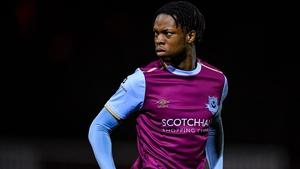 Jordan Adeyemo bagged a brace on Boyneside