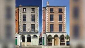 Before and after pictures reveal the scale of the restoration project at 18 Ormond Quay in Dublin