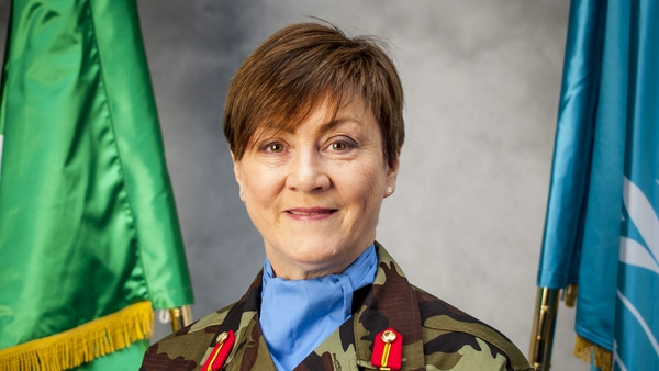 Major General Maureen O'Brien will be sent as one of two advisors to the UN