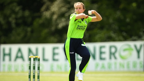 Leah Paul delivered a left-arm spin masterclass in Belfast