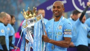 Fernandinho has won four Premier League crowns with City but the wait for Champions League glory goes on