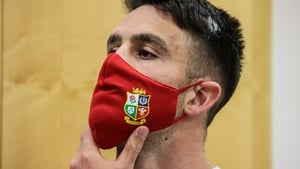 Conor Murray pictured at the Lions meeting today