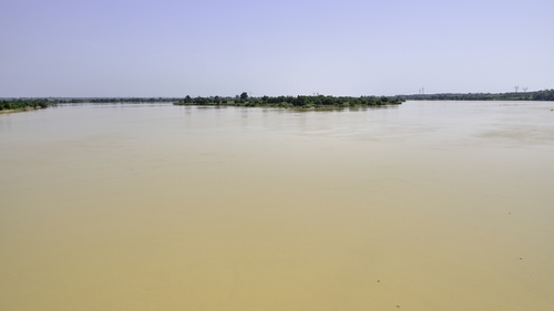 The boat was travelling on the Niger River when it sank (File pic)