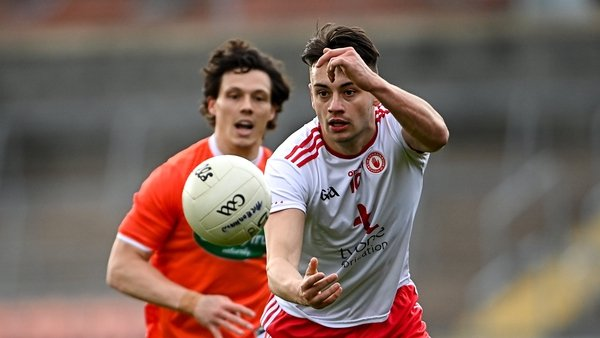 Paul Donaghy impressed O Sé with his confidence against Armagh